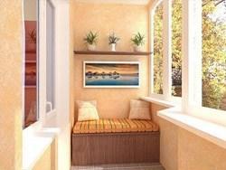 Внутренняя отделка балконов и лоджий в Батайске